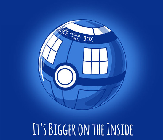 Police Box Poké Ball Doctor Who Pokemon T-Shirt