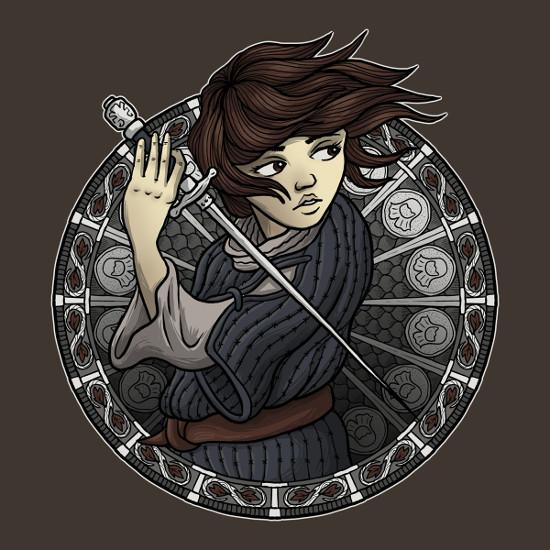 Arya Stark Needle Game of Thrones T-Shirt