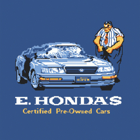 E. Honda Cars Street Fighter T-Shirt