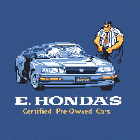 E. Honda Cars Street Fighter T-Shirt