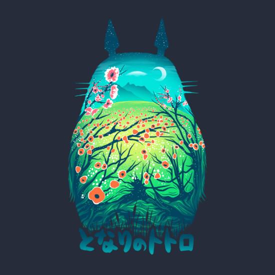 My Neighbor Totoro Dream Landscape T-Shirt