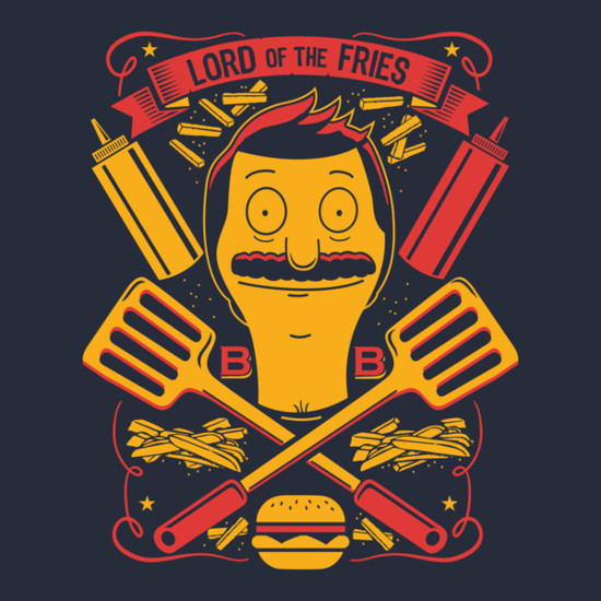 Lord of the Fries Bob's Burgers T-Shirt