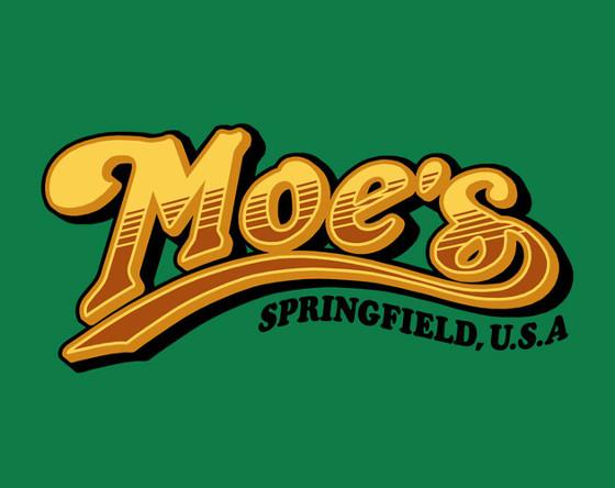 Moe's Cheers Simpsons Bar T-Shirt