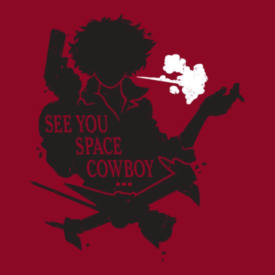 See You Space Cowboy Bebop T-Shirt