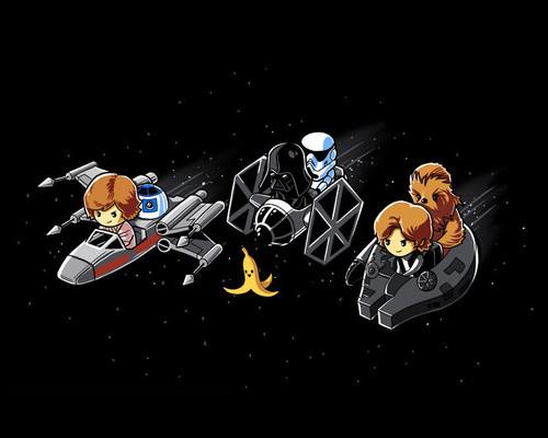 Star Wars Mario Kart T-Shirt