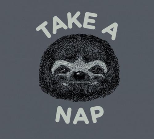 Take A Nap Sloth T-Shirt