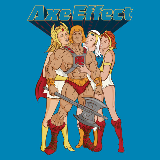 He-Man Axe Effect T-Shirt