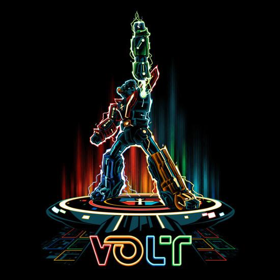 Voltron Tron T-Shirt