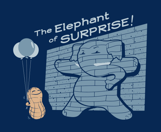 The Elephant of Surprise T-Shirt