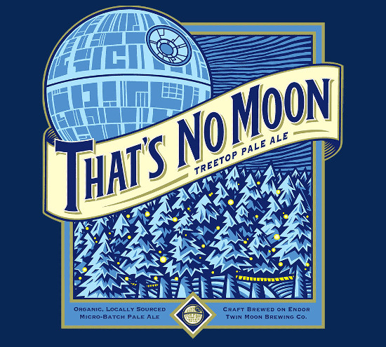 That's No Blue Moon Star Wars Beer T-Shirt