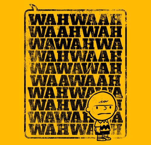 Charlie Brown Adults Talking Wah Waah T-Shirt