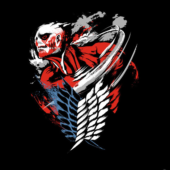 Colossal Wings of Freedom Attack on Titan T-Shirt