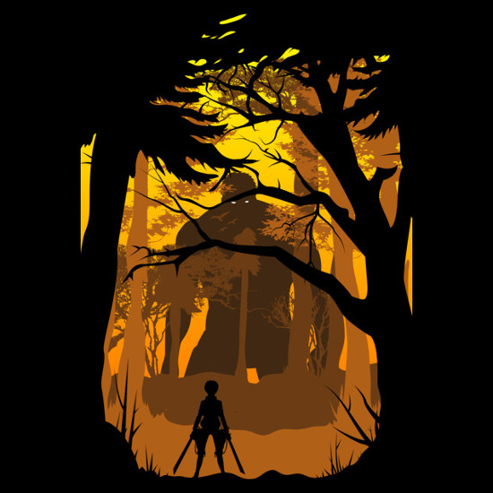 Attack on Titan Eren Yeager Forest T-Shirt