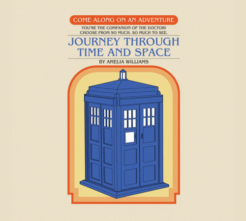 Doctor Who Choose Your Own Adventure Book T-Shirt