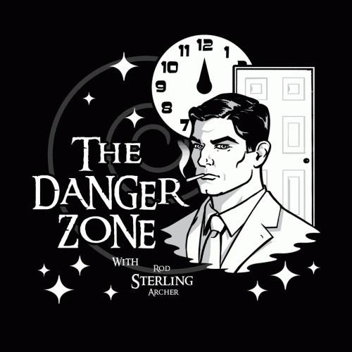 Danger Zone Archer Twilight Zone T-Shirt