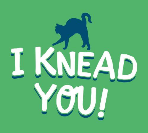 I Knead You Cat T-Shirt