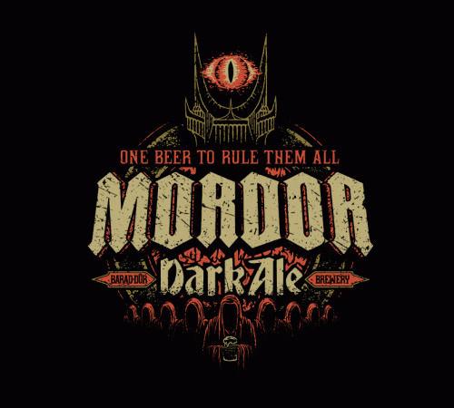 Mordor Dark Ale Hobbit Lord of the Rings T-Shirt