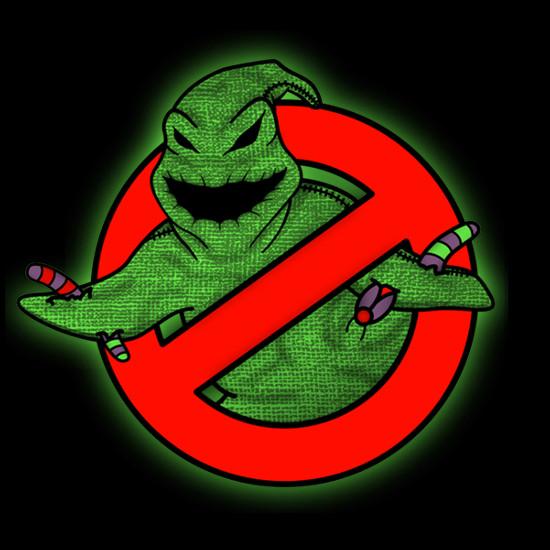 Nightmare Before Christmas Oogie Boogie Ghostbusters T-Shirt