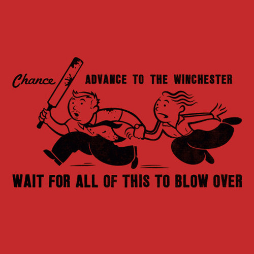 Chance Advance to the Winchester Shaun of the Dead T-Shirt