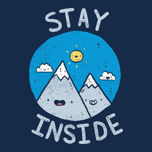 Stay Inside Nature Sucks T-Shirt