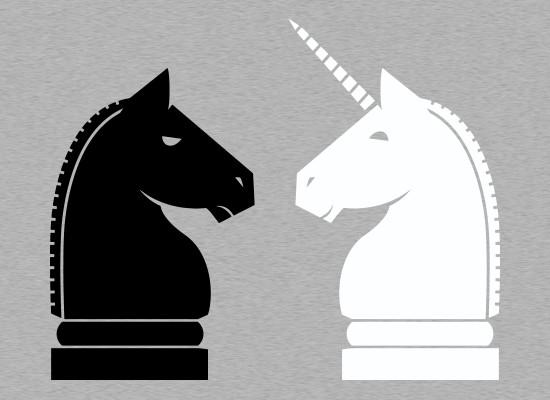Chess Unicorn Knight T-Shirt