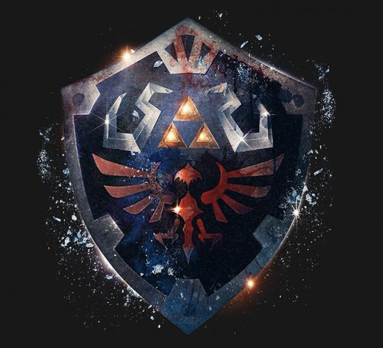 Epic Hylian Shield Legend of Zelda T-Shirt