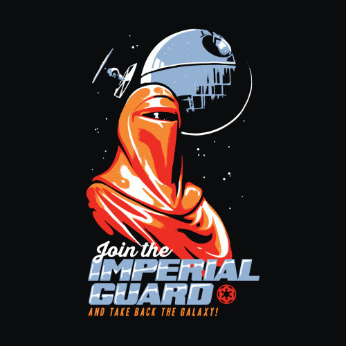 Join the Imperial Guard Star Wars T-Shirt