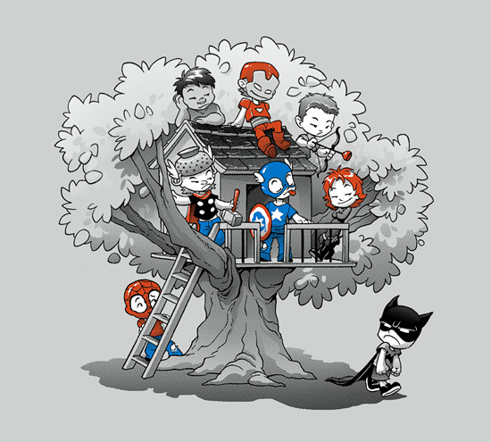 Marvel Comics Treefort Clubhouse T-Shirt