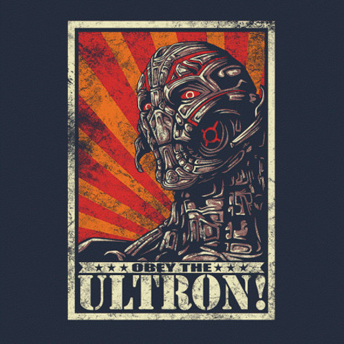 The Avengers Obey Ultron T-Shirt