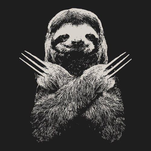 Slotherine Wolverine Sloth X-Men T-Shirt