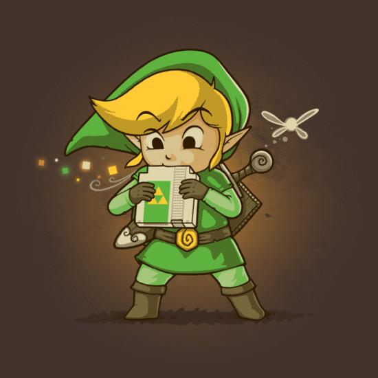 Legend of Zelda NES Cartridge Flute Ocarina T-Shirt