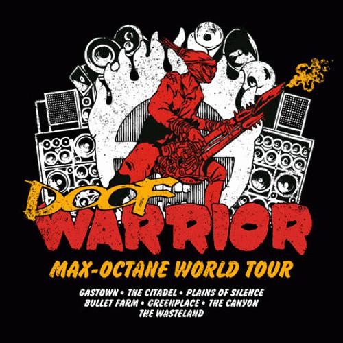 Doof Warrior Mad Max Fury Road Guitar Tour T-Shirt