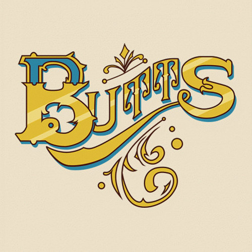 Fancy Butts Typography T-Shirt