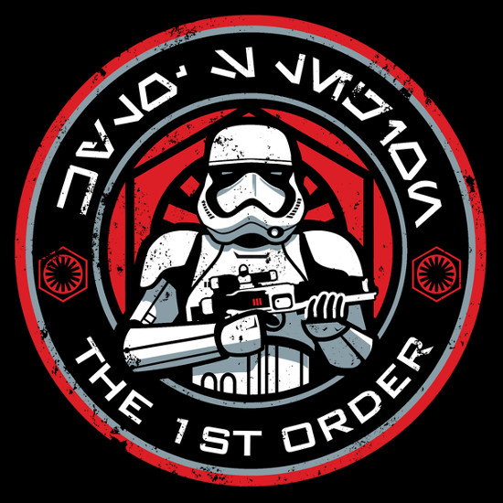 The 1st Order Stormtroopers Star Wars The Force Awakens T-Shirt