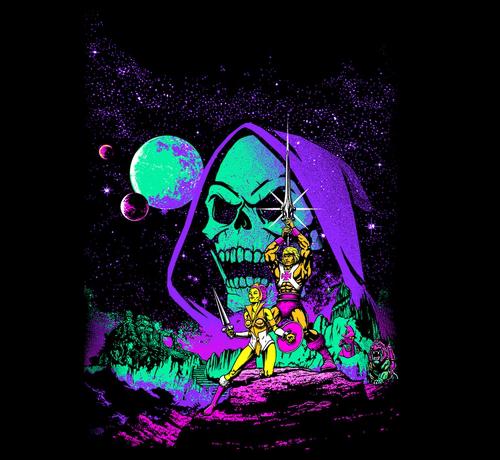 He-Man Star Wars A New Hope Poster T-Shirt