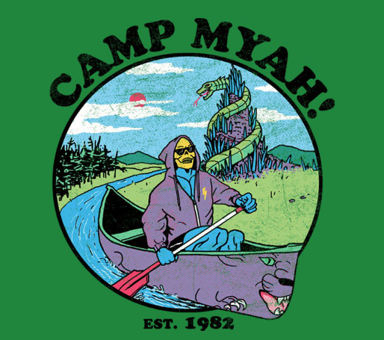 Camp Myah Funny Skeletor He-Man T-Shirt
