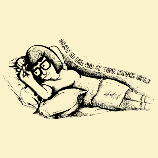Tina Belcher Draw Me Like One of Your French Girls Bob's Burgers T-Shirt