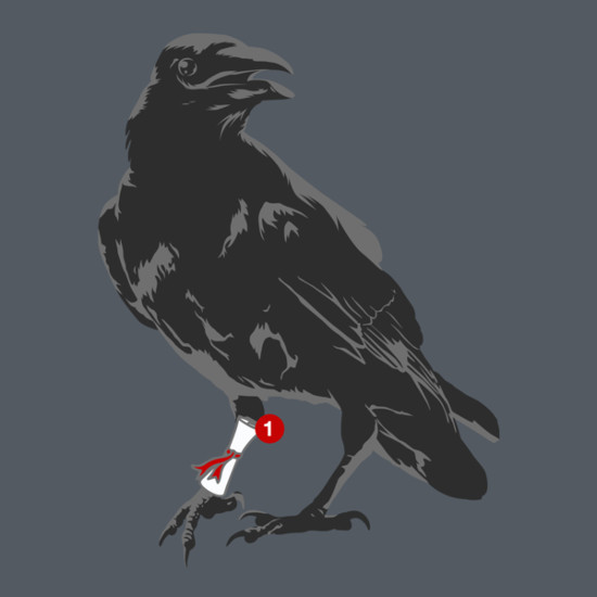 You've Got a Raven Game of Thrones Mail T-Shirt