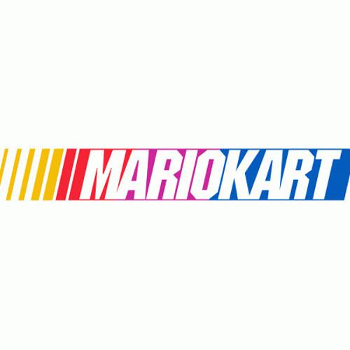 Mario Kart NASCAR Logo T-Shirt