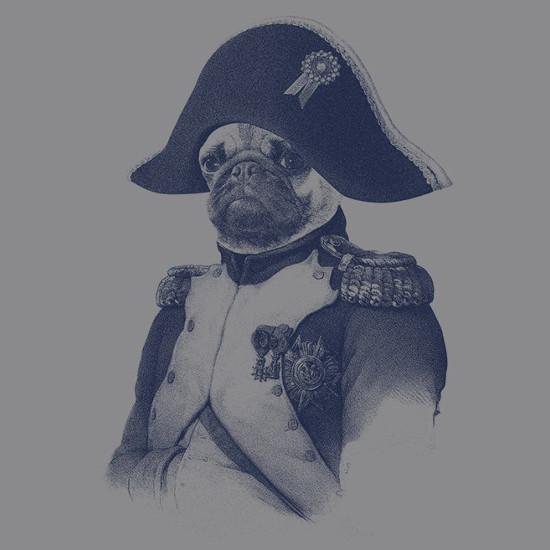 Napugleon Pug Napoleon T-Shirt