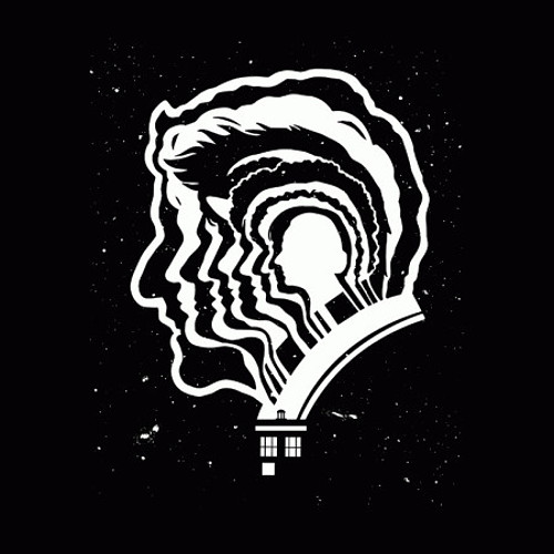 Doctor Who Nested Heads T-Shirt