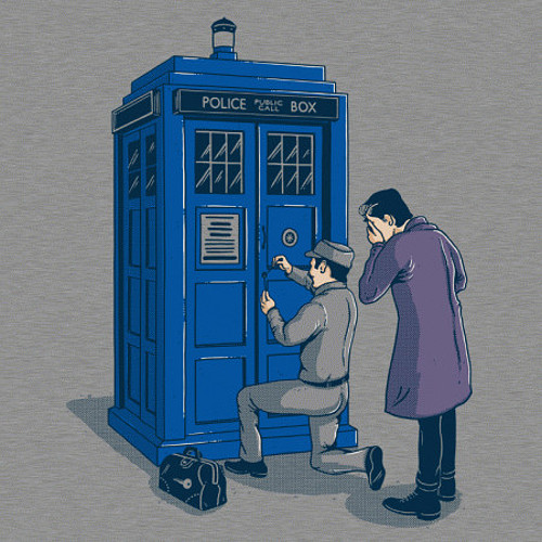 Doctor Who TARDIS Locksmith T-Shirt