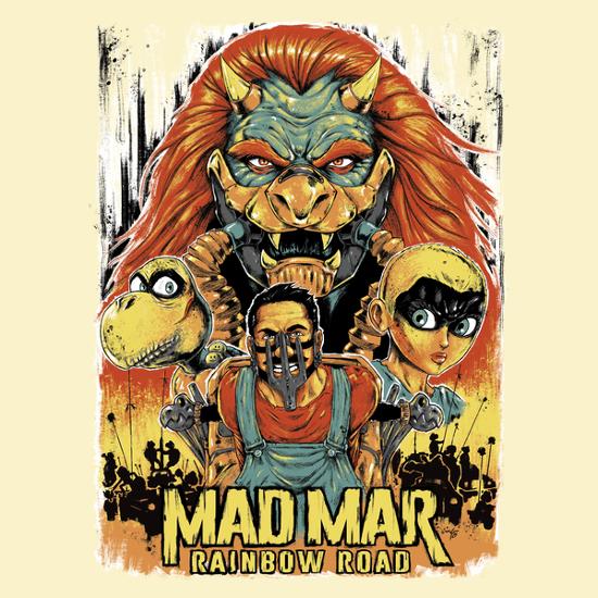Mad Max Super Mario Bros T-Shirt