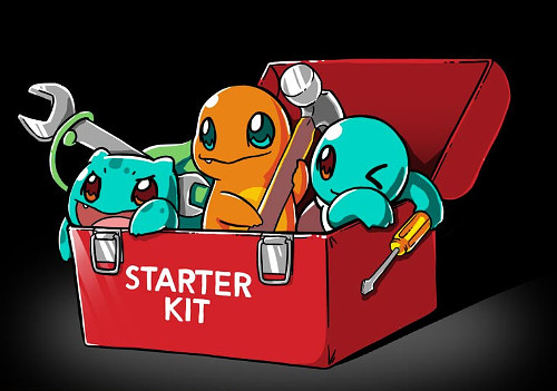 Pokémon Starter Kit Toolbox T-Shirt