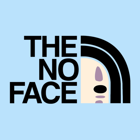 The No Face North Face Spirited Away T-Shirt