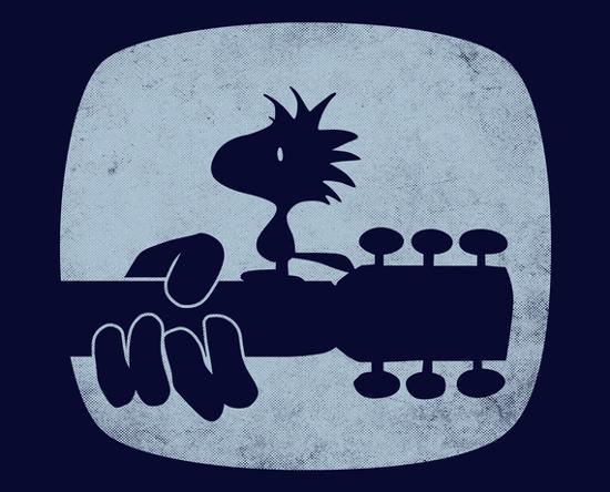 Woodstock Bird Music Festival Peanuts T-Shirt