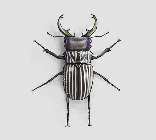 Beetlejuice Beetle T-Shirt