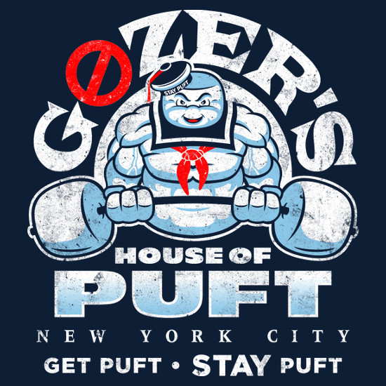 Gozer's Stay Puft Gym Ghostbusters T-Shirt