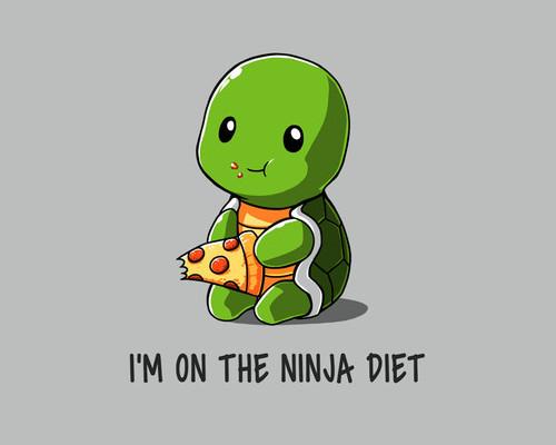 I'm on the Teenage Mutant Ninja Turtles Diet T-Shirt