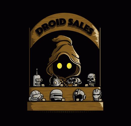 Droid Sales Jawa Funny Star Wars T-Shirt